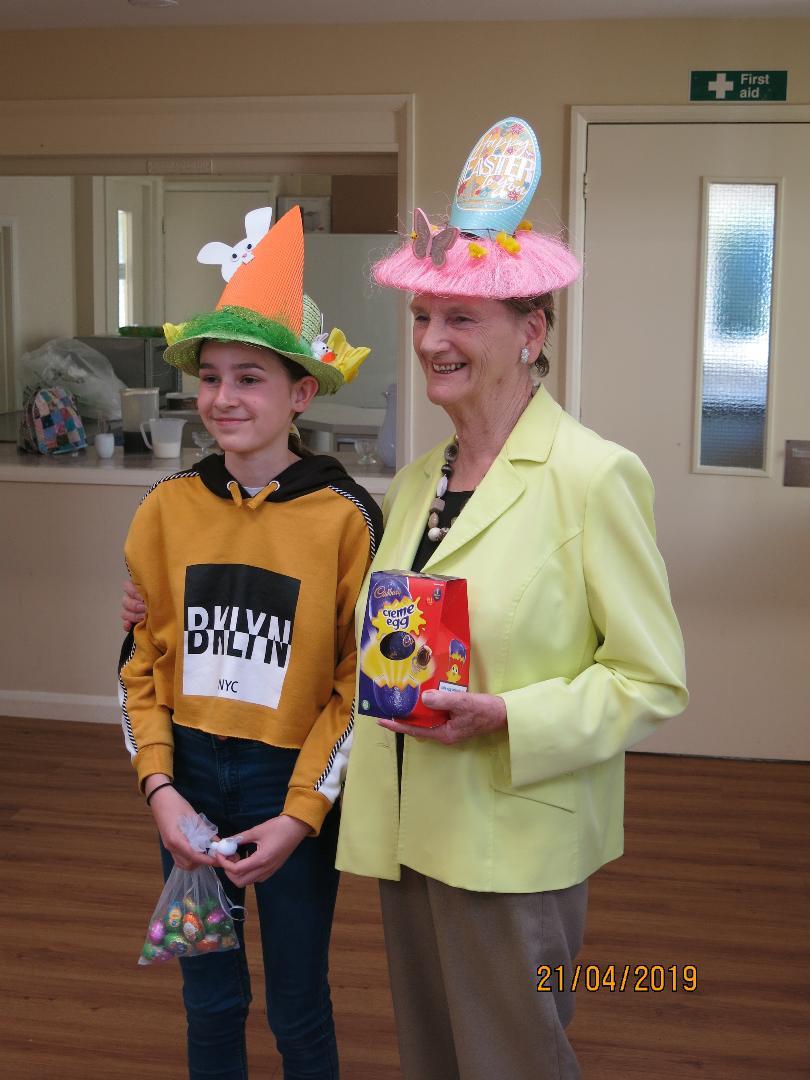 easter bonnet winners